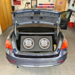 BMW 3 Series AUDIO UPGRADE with Dual Pioneer Champion Series Subwoofer