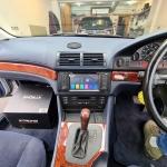 BMW 5 Series E39 Replaced Original Stereo