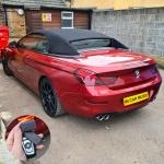 BMW 6 Series Pandora Mini BT V2 Car Alarm Installation