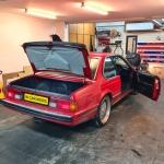 BMW E24 1989 PIONEER AUDIO UPGRADE