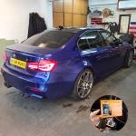 BMW M3 Competition Pandora BT V2 Car Alarm
