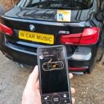 BMW M3 Pandora BT V2 Car Alarm with Phone App