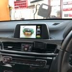 BMW X1 Reverse Camera integration into Factory screen