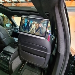 BMW X5 12.5inch Android Headrest Installation