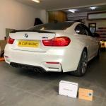 BlackVue Dash Cam Battery Installation in BMW M4