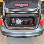 CAR AUDIO UPGRADE in AUDI A5