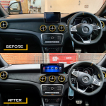 CLA Mercedes 12.3 inch Stereo Upgrade