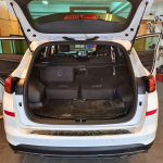 Double Audison 10inch Active Subwoofers in Hyundai Tucson 2020