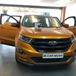 Ford Edge Sport Installed customer s own dashcam