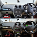 Ford Fiesta Apple CarPlay Stereo with DVD Player