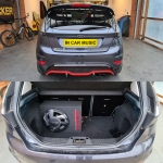 Ford Fiesta Zetec S Installed Pioneer TS WX300A Active Subwoofer