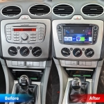 Ford Focus Original Stereo Replacement