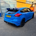 Ford Focus RS installed Meta Trak Cat S5 Tracking System