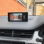 Front and Rear Camera with Interface on Factory Screen