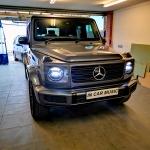 G Class Mercedes Dash Camera Installation