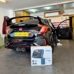 Honda Civic Type R 2020 installed Audison Prima APBX 10 AS