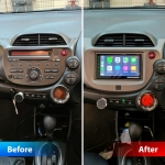 Honda Jazz Stereo Replacement with Pioneer SPH DA250DAB
