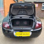 JBL Audio Upgrade in Bentley Continental GT