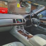 Jaguar XF 2013 Wireless Apple CarPlay Interface
