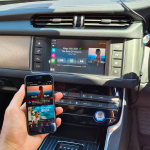 Jaguar XF 2016 fitted wireless apple carplay interface