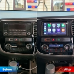 Kenwood DMX7018DABS Stereo fitted in Mitsubishi Outlander PHEV