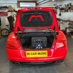 Kicker Solo Baric 12inch Subwoofer in Bentley Continental GTC