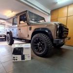Land Rover Defender Urban Truck Audio Upgrade