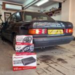 Mercedes 190E W201 1991 Pioneer Audio Upgrade