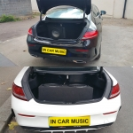 Mercedes C Class Amp and Sub Installation