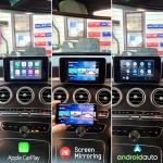 Mercedes C Class Coupe CarPlay Android Auto Phone Mirroring