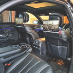 Mercedes S Class 2018 13.3inch Headrest Screens