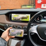 Mercedes S Class 2015 Wireless Screen Mirroring Interface on to OEM