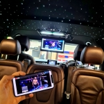 Mercedes Vito 15inch Roof Monitor with Screen Mirroring