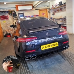 Meta Trak Cat S5 VTS Vehicle Live GPS Tracker     Fitted in Mercedes AMG GT 63S