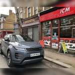 Meta Trak S5 VTS Insurance Approved installed in Range Rover Evoque 2020