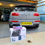 Mini Clubman S fitted Audison 10inch Subwoofer Box 450w RMS