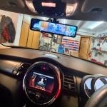 Mirror Dual Dash Camera Installation in Mini Cooper 2020