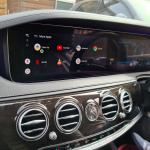 NetFlix Youtube PlayStore added on Mercedes with CarPlay built in