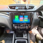 Original Stereo Replacement in Nissan Qashqai