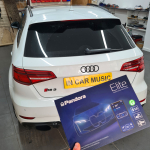 Pandora Elite Pro car alarm fitted on Audio RS3 2016