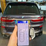 Pandora Light Pro Car Alarm on BMW X7 2020