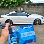Pandora Smart Pro Car Alarm on E class Coupe 2020