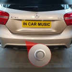 Park Safe Rear Parking Sensor Kit Fitted in Mercedes A Class
