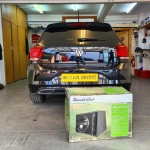Phoenix Gold 12inch Active Subwoofer in VW Polo R 2020
