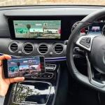 Phone Mirroring in Mercedes E Class W213