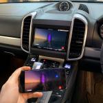 Phone Mirroring on Pioneer AVH Z9200DAB in Porsche Cayenne