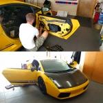 Pioneer Car Stereo and Speaker Install in Lamborghini Gallardo