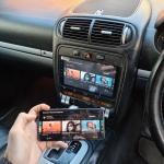 Porsche Cayenne S Phone Mirroring