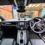 Porsche Macan Wireless Apple CarPlay Interface