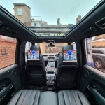 Range Rover Autobiography fitted 12.5inch Headrest Screens